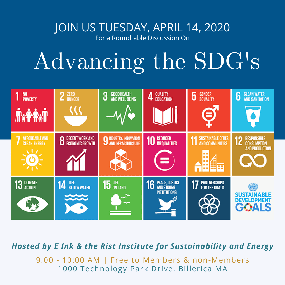 Invitation to Learn How to Advance the UN's Sustainable Development Goals